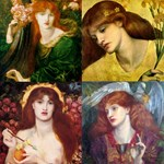 Rossetti Collage