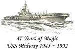 USS Midway ~ 47 Years of Magic