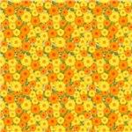 Bright Yellow Orange Flowers