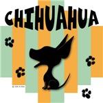 Chihuahua Green/Orange Stripe