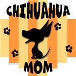 Chihuahua Mom Yellow/Orange Stripe