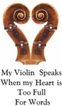 My Violin Speaks