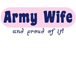 Army Wife Pink Proud