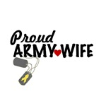 Army Wife (heart, tags)