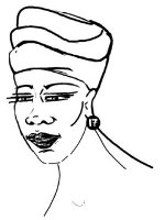 Woman With Headwrap