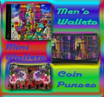 Designer Coin Purses, Men's Wallets & Mini Wallets