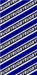 Rugby Striped black blue