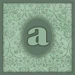 Mint Green Grunge Damask Monogram Totebags