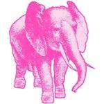 Pink Elephant Pink Pachyderm