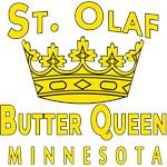 St Olaf Butter Queen Minnesota Humor