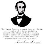 President Lincoln Law of the Land Quote