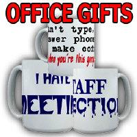 Office Gifts, Mugs, Wall Art