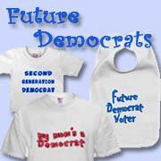 Democratic and Democrat Babies and Kids