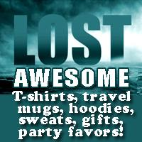 LOST TV T-shirts and Lost  Stuff