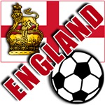 World Soccer ENGLAND with Crown