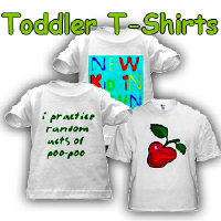 Cool t-shirts for toddlers!