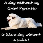 A day without my Great Pyrenees