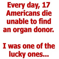 Organ Donation - I was one of the lucky ones