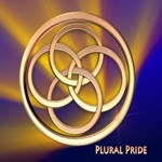 Plural Pride Blue & Gold