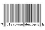 Ulamonge Designs barcode