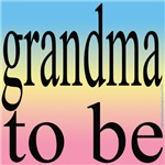 109b. grandma to be [black on pastel grade blue on