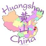 Huangshan, China Color Map
