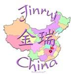 Jinrui Color Map, China