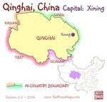 Qinghai, China mini Map