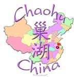 Chaohu China Color Map