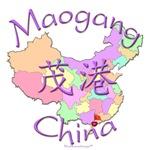 Maogang China Color Map
