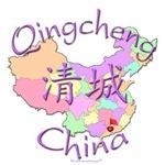 Qingcheng China Color Map