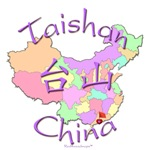 Taishan China Color Map