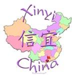 Xinyi China Color Map