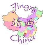 Jingxi China Color Map