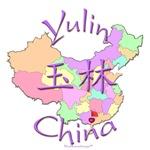 Yulin China Color Map