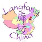 Langfang China Color Map