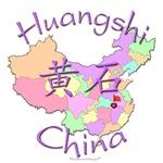 Huangshi Color Map, China