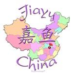 Jiayu Color Map, China