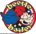 Beetle Bailey Circle Logo