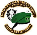 10th SFG - Beret Dagger DUI