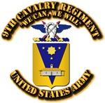 9th Cavalry Regiment - COA