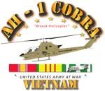 AH-1 - Cobra w VN Svc Ribbons