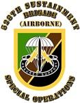SOF -  528th Sustainment Brigade SO Abn - Flash