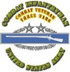 Army - CIB - 3rd Award