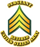 Army - Sergeant E-5 - Retired