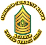 Army - Command Sergeant Major - Retired