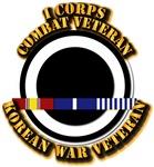 Army - I Corps w Korean Svc