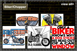 Biker and Chopper