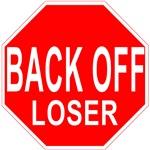 Back Off Loser Anti-Valentine