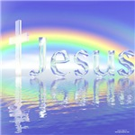Jesus Rainbow Cross
